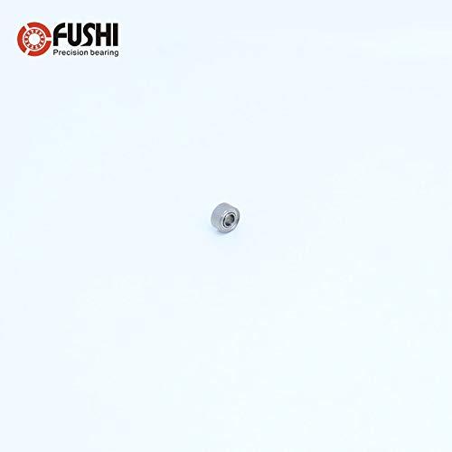 50pcs//lot MR52ZZ 2X5X2.5mm Deep groove Ball Bearings MR52 L-520ZZ