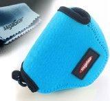 MegaGear ''Ultra Light'' Neoprene Camera Case Bag for Nikon 1 J4 with 10-30mm (Blue)