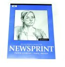 Jack Richeson 24 x 36 in. Rough Newsprint Pad - 32 Lbs. - 50 Sheets44; Pack 50 by Jack Richeson