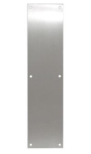 INOX GH-PPN4016-32D Push Plate 4-Inch By 16-Inch, Satin Stainless Steel