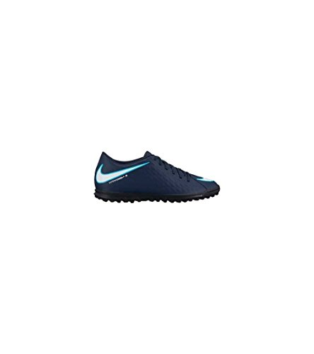 Nike Hypervenom X Phade III TF 852545 414, Baskets Mixte Adulte Mehrfarbig (Indigo 001)