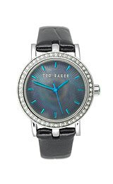 Ted Baker Women's TE2013 Sophistica-Ted Round 3-Hand Analog Patent Leather Watch