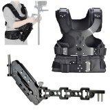 CowboyStudio Camera Shoulder Stabilizer Load Vest & Single Handle Arm for DSLR DV Camera