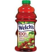 Welch's White Grape Cherry 100% Juice, 64 Fl Oz(Case of 2)