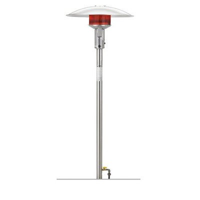 Permanent Natural Gas Patio Heater Finish: Stainless Steel, Series:
