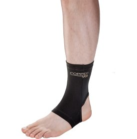 Copper Fit Infused Ankle Compression Sleeve Brace