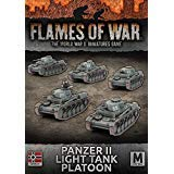 Flames of War: Mid War: German: Panzer II Light Tank Platoon (GBX108)