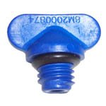 OEM Mercury Mercruiser Closed Cooling Blue Drain Plug & O-Ring 22-806608A2