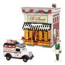 (Department56 Original Snow Village B-Sweet Shop Lit Building and Accessories, 6.97