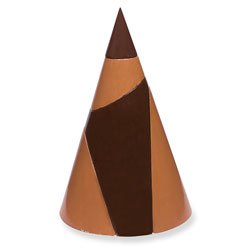 Nasco Dissectible Wood Cone - Math Education Program - TB02161