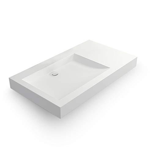 en Solid surface Passoa II Vasque 80 cm /à suspendre ou /à poser
