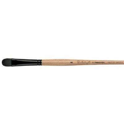 Princeton Brush 6400SFB-4 Polytip Bristle Brush Short Filbert 4