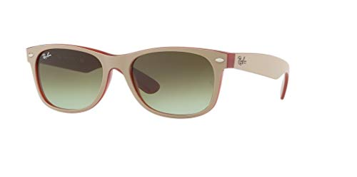 Brown New Red Rb2132 Ban Opal On green Beige Gradient Wayfarer Matte Ray 7v1wAqTE