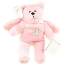 Holy Bears Pink Guardian Angel Bear, Stuffed Animal Plush. 8