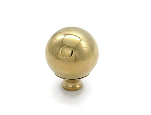 RX-789 Brass Bed Finial Cannon Ball Bed Frame 2