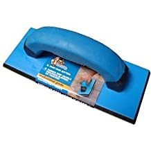 """Troxell USA 9"""" x 4"""" Gum Rubber Grout Float with SoftGrip Handle"""
