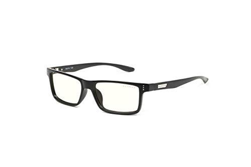 (GUNNAR Youth Gaming and Computer Eyewear /Cruz, Onyx Frame, Clear Tint - Patented Lens, Reduce Digital Eye Strain, Block 35% of Harmful Blue Light)