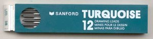 TURQUOISE DRAFT LEAD (3B) Prismacolor Tube of 12-each