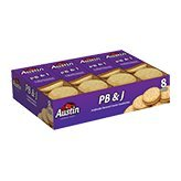 Austin PB & J Cracker Sandwiches, 1.38 oz, 8 count