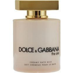 The One By Dolce & Gabbana 6.7 oz Bath Milk for (Gabbana Lily)