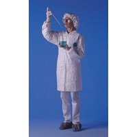 Tyvek Lab Coat - DuPont X-Large White 5.4 mil Tyvek® Disposable Labcoat With Snap Front Closure And Collar