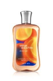 Orange Sapphire Shower Gel Signature Collection Bath & Body Works 10 FL OZ /295 mL