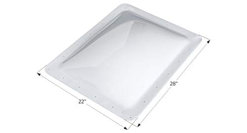 Renewed Sunoptics FK R2020 W25.500 L25.500 HEIGHT5  2-Feet by 2-Feet Flashing Kit with 5-Inch Vertical Curb