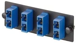 FAP3WBUDSCZ 3-Fiber Count SC-Connector Zirconia Sleeve Material Duplex Adapters