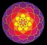 "Mandala ""Sunrise Lotus"" Sticker Window Decal – Go4CarZ Store"