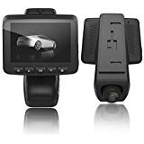 OUCOMI Car Dash Cam, HD 1080P WiFi Driving Recorder with Loop Recording, G-Sensor, Parking Monitor Vehicle Blackbox DVR Black
