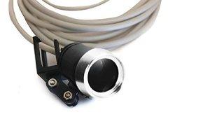 Surgical Portable LED Headlight Lamp for Medical Binocular loupes Sliver