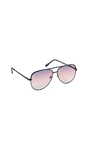 Quay Women's Sahara Sunglasses, Black/Purple, One - And Black Glasses Purple