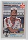 derek-bell-baseball-card-1988-grand-slam-south-atlantic-league-all-stars-base-20