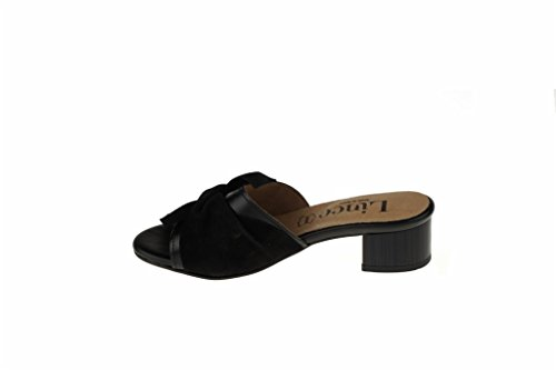 Heel Shovel Lince Sandal Black Shoes qxtWa6w