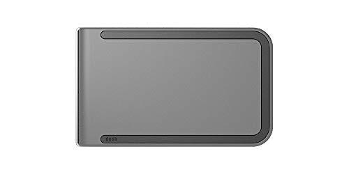 DOSH RFID Luxe 6-Card Compact Designer Money Clip Wallet