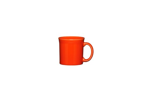 Fiesta Java Mug, 12-Ounce, Poppy