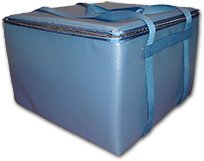 TCB Insulated Bags HGX-2-Blue Insulated Catering Bag for Dome/Deli Trays, 22'' x 22'' x 14.5'', Blue by TCB Insulated Bags