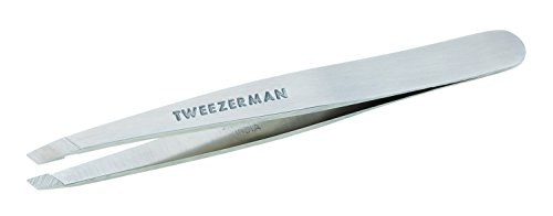 (Tweezerman Slant Tweezer - Stainless Steel Model No. 1231-R)