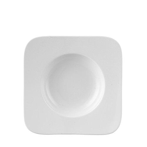 Rosenthal Free Spirit White Porcelain Rim Soup Bowl - Rosenthal Free Spirit White Porcelain