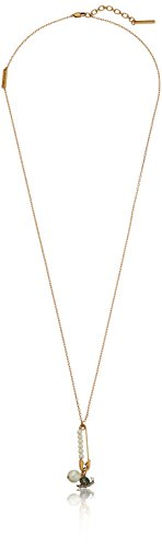 Marc Jacobs Safety Snail Charm Pendant Necklace, 32