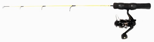 Eagle Claw Ice Light Fishing Combo, 28-Inch, Yellow