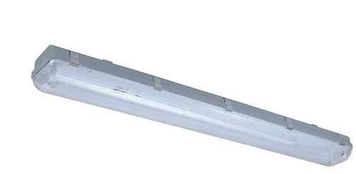 Four Bros Lighting 4\'ft 2 Lamp T8 Fluorescent Vapor Proof Light ...