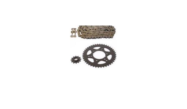 520-80L O-Ring Chain /& 12//42 Sprocket Set for Polaris Xplorer 250 4X4 2001 2002