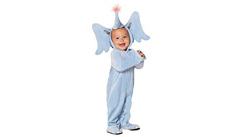 (Dr. Seuss Horton Hears a Who Baby Onesie Costume for Dr. Seuss's Birthday (0-6 Months))