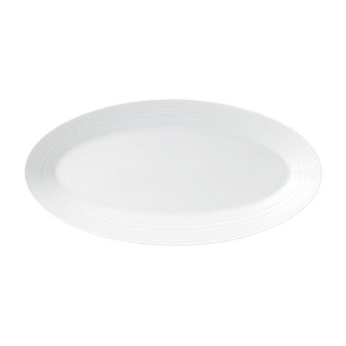 Wedgwood Jasper Conran Strata Oval Platter- - Jasper Strata