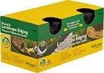 (Valley View VPI-20 Interlocking Decorative Lawn Edging, 20', Black)