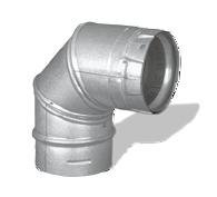 179004 4'' x90 Degree Elbow Pellet Vent