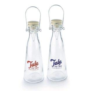 2 botellas de cristal vintage 50 cl Tala: Amazon.es: Hogar