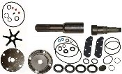 (Tungsten Marine Complete Shaft Service Kit for OMC Sterndrive Low Profile Models Replaces 909121, 909753 982949)