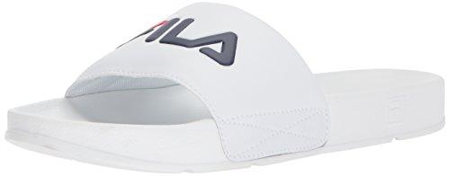 Fila Herren Drifter Sport Sandale Weiß / Fila Navy / Fila Rot